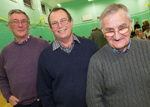 Championship Judges 2013 - Clive Tanner, Richard Walton and Roger Force